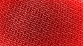 Error message. A background of red error text Stock Image