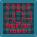 Error message background Stock Image