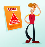 Error message Royalty Free Stock Image