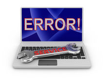Error Royalty Free Stock Photos
