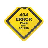 Error page Royalty Free Stock Image