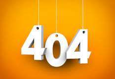 404 error Royalty Free Stock Image