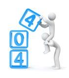 404 error Royalty Free Stock Image