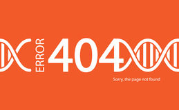 Error 404. Page not found. Abstract background with break connec. Tion. Vector illustration Royalty Free Stock Images