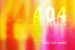 404 error page not found Stock Photography