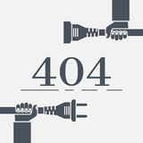 404 Error, page not found. Stock Photos
