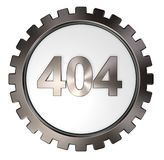 Error 404 Royalty Free Stock Photos