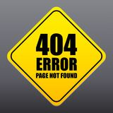 404 error page not found sign vector. A 404 error page not found sign vector Vector Illustration