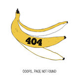 404 error page. Page not found. Royalty Free Stock Image