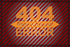 Error page template graphics Stock Photography