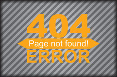 Error page template graphics Stock Image
