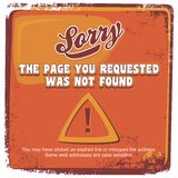 Error page theme Stock Images