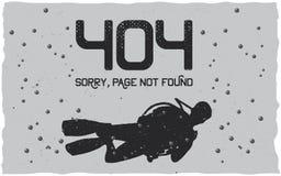 404 Error Poster Stock Photography
