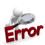 Error search Stock Photography