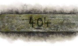 Errore 404 Immagini Stock