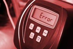 Errore Immagine Stock