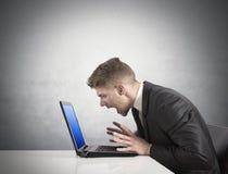 Errore del computer Fotografia Stock Libera da Diritti