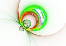 Errore di programma astratto multicolore illustrazione di stock