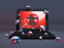 Errors and viruses Stock Photo
