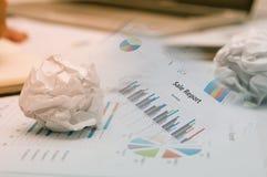 Erros do negócio, conceito do negócio Foto de Stock Royalty Free