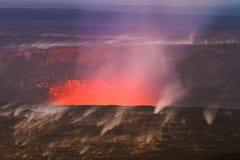 Errupting Vulkan Lizenzfreies Stockbild