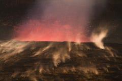 Errupting Vulkan Lizenzfreie Stockfotografie
