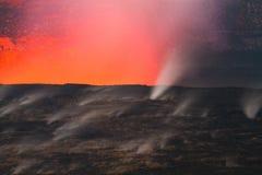 errupting wulkan Fotografia Royalty Free