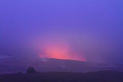 errupting wulkan Obrazy Royalty Free
