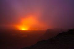 errupting wulkan Obrazy Stock