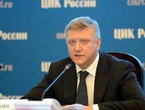 Ersättare av den statliga Dumaen av de 5th, 6th och 7th sammankallandena Medlemmen av fraktionen av parti`en förenade Ryssland `  Arkivfoto