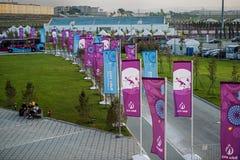 1ers jeux européens 2015 Photo stock