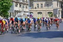 1ers jeux européens, Bakou, Azerbaïdjan Image stock
