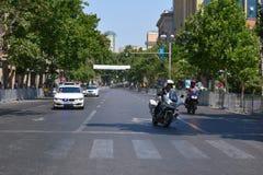 1ers jeux européens, Bakou, Azerbaïdjan Photos stock