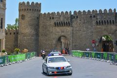 1ers jeux européens, Bakou, Azerbaïdjan Images stock
