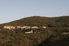Ersa, Botticella,欧特Corse,海角Corse,可西嘉岛,上部可西嘉岛,法国,欧洲,海岛 免版税库存照片