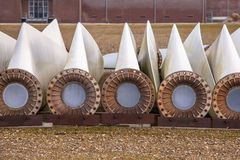 Ersatzwindkraftanlageflügel Lizenzfreies Stockbild