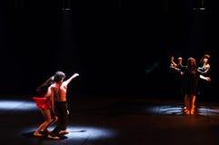 Erscheinen Adam und Eve des modernen Tanzes Lizenzfreies Stockbild