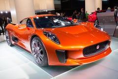 Erscheinung 007 Jaguars C X75 Stockbilder