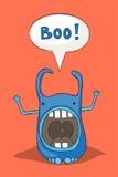 Erschrecken des Monsters Lizenzfreie Stockbilder