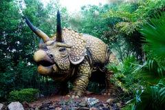 Erschreckender Triceratops-Dinosaurier Lizenzfreies Stockfoto