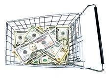 Erschwingliches Einkaufen Lizenzfreie Stockfotografie
