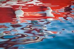 Erstaunliche abstrakte Reflexion Stockfoto