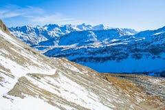 Erstaunliche alpine Landschaft Lizenzfreie Stockbilder