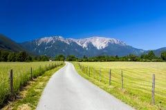 Erstaunliche alpine Landschaft Stockfoto