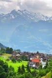 Erstaunliche alpine Landschaft im Bezirk Uri, die Schweiz Lizenzfreie Stockfotos