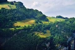 Erstaunliche alpine Landschaft im Bezirk Uri, die Schweiz Stockfotos