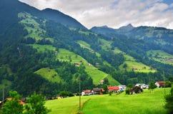 Erstaunliche alpine Landschaft im Bezirk Uri, die Schweiz Lizenzfreie Stockfotografie