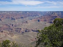 Erstaunliche Ansicht über Grand Canyon Stockfoto