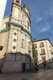 Erstaunliche Ansicht der Basilika von San Miguel in der Stadt von Madrid, Spanien Lizenzfreies Stockfoto