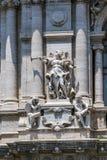 Erstaunliche Ansicht des Gebäudes des Obersten Gerichts der Aufhebung in der Stadt von Rom, Italien lizenzfreie stockfotografie